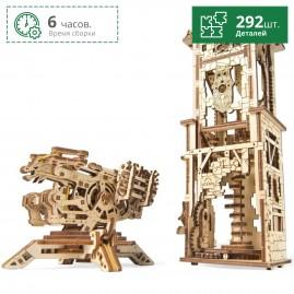 Башня-аркбаллиста UGEARS
