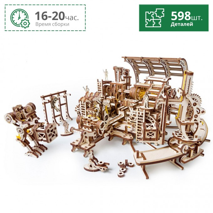 Фабрика роботов UGEARS 70039